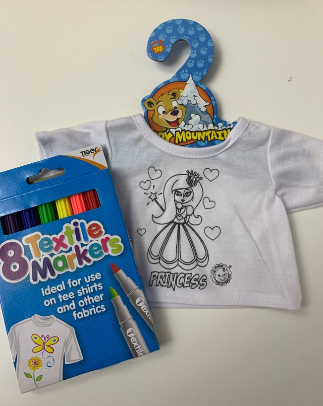 Colour Me T-shirt Princess 16
